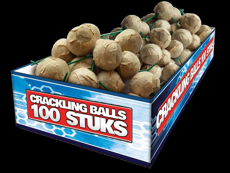 Crackling Balls 100
